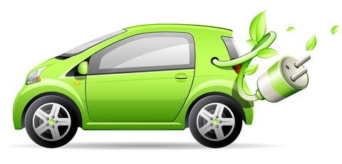 Groen auto rijden
